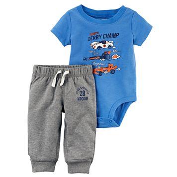 Baby Boy Carter's Derby Bodysuit & Pants Set