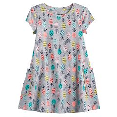 Toddler Girl Jumping Beans® Pineapple Swing Dress