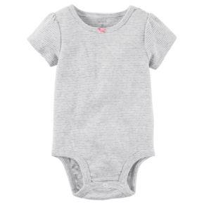 Baby Girl Carter's Polka-Dot Jumper & Striped Bodysuit Set