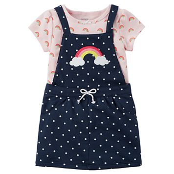 Baby Girl Carter's Rainbow Jumper & Bodysuit Set