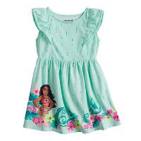 Disney's Moana Toddler Girl Flutter Sleeve Dress by Jumping Beans®