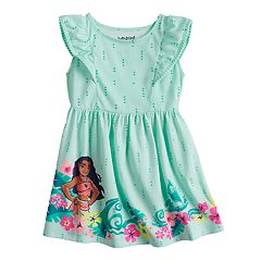 Disney's Moana Toddler Girl Flutter Sleeve Dress by Disney/Jumping Beans®