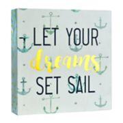 """Belle Maison """"Set Sail"""" Box Sign Art"""