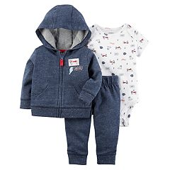 Baby Boy Carter's 3 pc Jacket, Bodysuit, & Pants Set