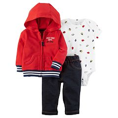 Baby Boy Carter's 3 pc Sports Jacket, Bodysuit, & Pants Set