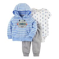 Baby Boy Carter's 3 pc Robot Jacket, Bodysuit, & Pants Set