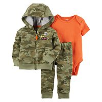 Baby Boy Carter's 3-pc. Camo Jacket, Bodysuit, & Pants Set