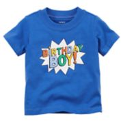 "Baby Boy Carter's ""Birthday Boy!"" Graphic Tee"