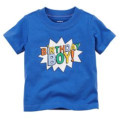 Baby Boy Carter's 'Birthday Boy!' Graphic Tee