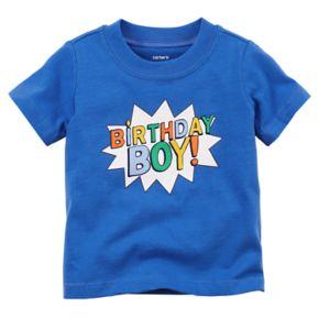 "Baby Boy Carter's ""Birthday Boy!"" Graphic Tee"