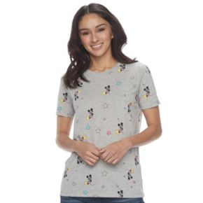 Disney's' Mickey Mouse Juniors' Star Graphic Tee