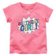 "Baby Girl Carter's ""Birthday Girl!"" Graphic Tee"