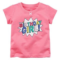 Baby Girl Carter's 'Birthday Girl!' Graphic Tee