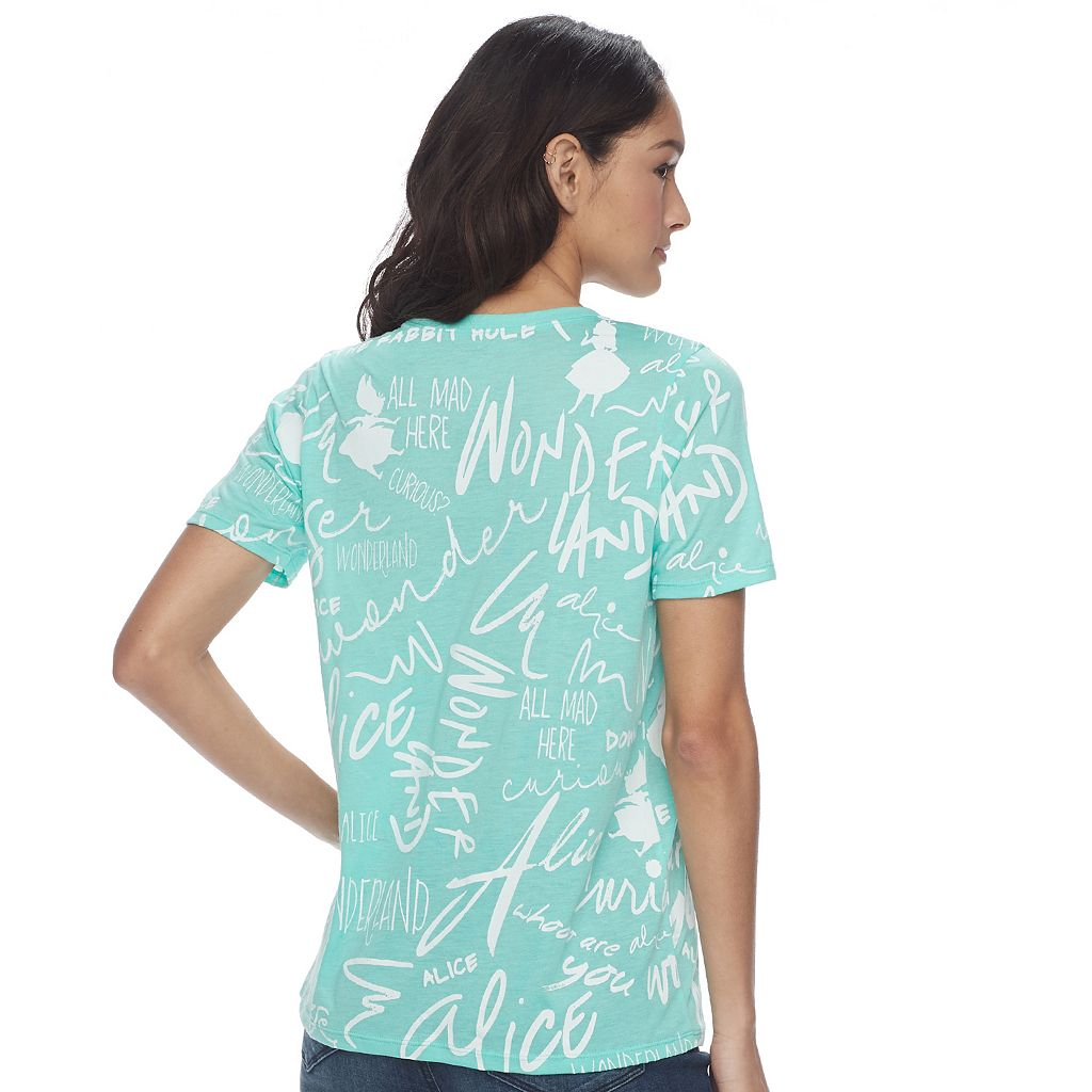 Disney's Alice in Wonderland Juniors' Graphic Tee