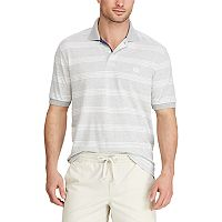 Big & Tall Chaps Classic-Fit Wide-Striped Polo