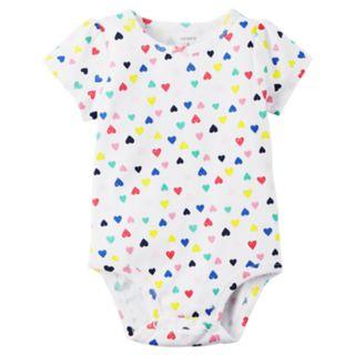 Baby Girl Carter's Blue Heart Jumper & Bodysuit Set