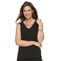 Women's Dana Buchman Metal Accent Tank