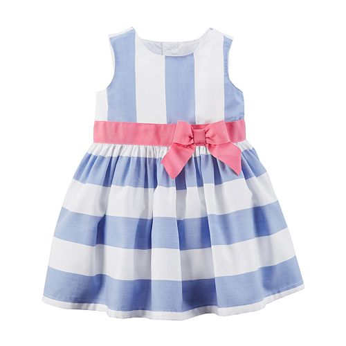 e70692a5f011 Baby Girl Carter s Striped Dress