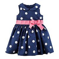 Baby Girl Carter's Peter Pan Color Polka-Dot Dress