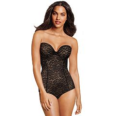 Maidenform Shapewear Strapless Lace Body Shaper DM2008