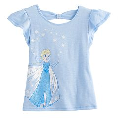 Disney's Elsa Toddler Girl Cross-back Tee by Jumping Beans®