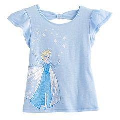Disney's Elsa Toddler Girl Cross-back Tee by Jumping Beans®