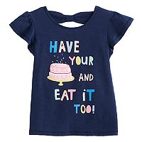 Toddler Girl Jumping Beans® Cake Graphic Tee