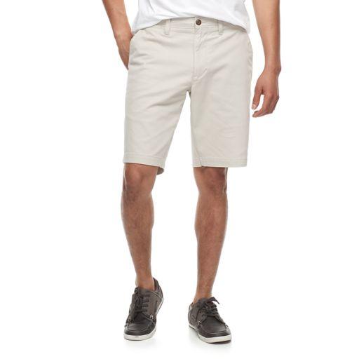 Men's SONOMA Goods for Life™ Flexwear Flat-Front Twill Shorts