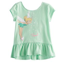 Disney's Tinkerbell Toddler Girl Peplum Top by Jumping Beans®
