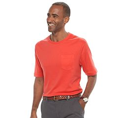 Men's Croft & Barrow® Interlock Pocket Performance Tee