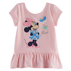 Disney's Minnie Toddler Girl Peplum Top by Jumping Beans®