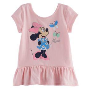 Disney's Minnie Toddler Girl Peplum Top by Jumping Beans®