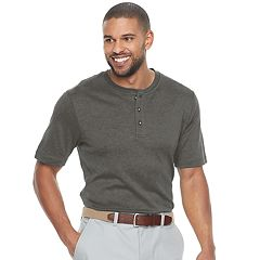 Men's Croft & Barrow® Classic-Fit Easy-Care Interlock Henley