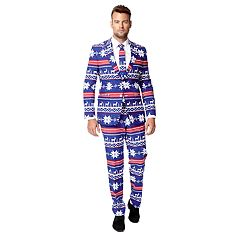 Men's OppoSuits The Rudolph Suit & Tie Set