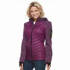 Women's Halitech Hooded Mixed-Media Jacket