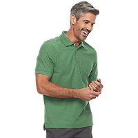 Men's Croft & Barrow® Classic-Fit Easy Care Pique Pocket Polo