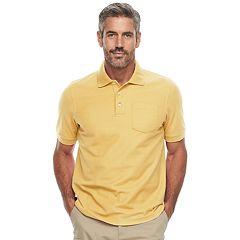 Men's Croft & Barrow® Classic-Fit Easy Care Pique Pocket Polo