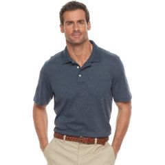 Polo Shirt for Men On Sale, Navy Blue, Cotton, 2017, XL Selected