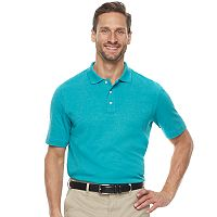 Men's Croft & Barrow® Signature Classic-Fit Interlock Polo