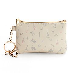 LC Lauren Conrad Paris Key Chain Coin Purse