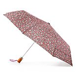 totes Floral Auto Open Umbrella