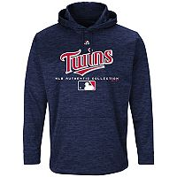Men's Majestic Minnesota Twins Authentic Collection Hoodie