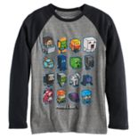 Boys 8-20 Minecraft Long-Sleeve Tee