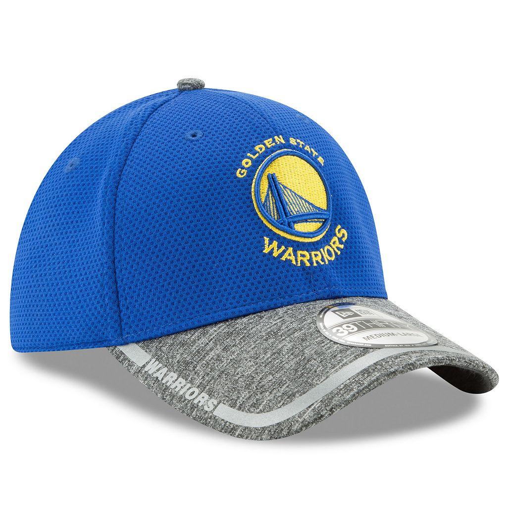 Adult New Era Golden State Warriors 39THIRTY Training Flex-Fit Cap