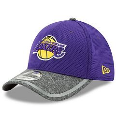 Adult New Era Los Angeles Lakers 39THIRTY Training Flex-Fit Cap