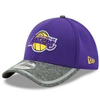 Adult New Era Los Angeles Lakers 39THIRTY Training Flex-Fit Cap