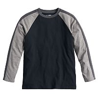 Boys 8-20 Urban Pipeline Striped Raglan Tee