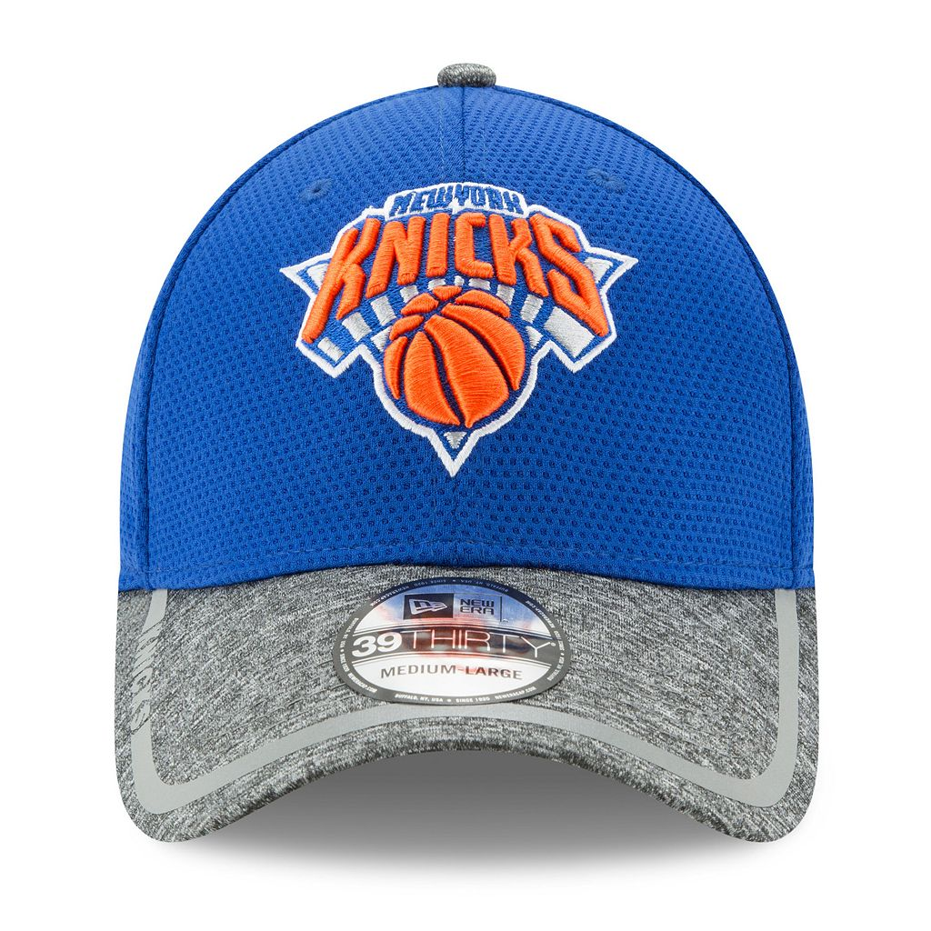 Adult New Era New York Knicks 39THIRTY Training Flex-Fit Cap