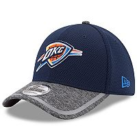 Adult New Era Oklahoma City Thunder 39THIRTY Training Flex-Fit Cap
