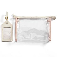 LC Lauren Conrad Paris Travel Pouch & Luggage Tag Set